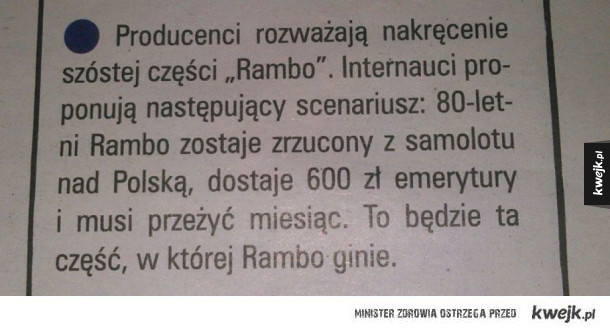 Nowe Rambo