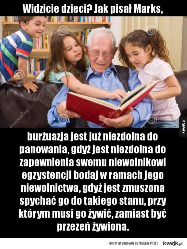 Cała Polska czyta dzieciom Marksa