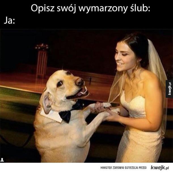 mój wymarzony ślub