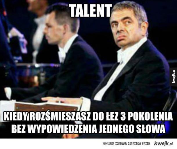 Prawdziwy talent