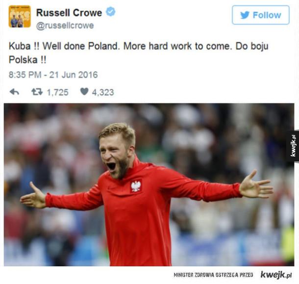 Dobry ziomek Rysiek Crowe