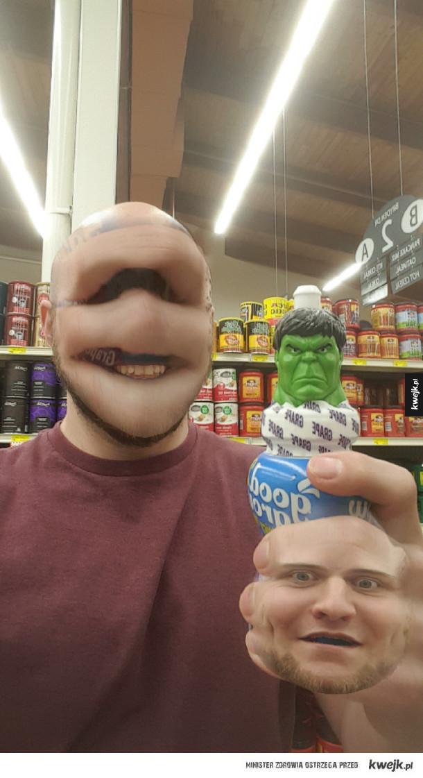 Podmianka twarzy