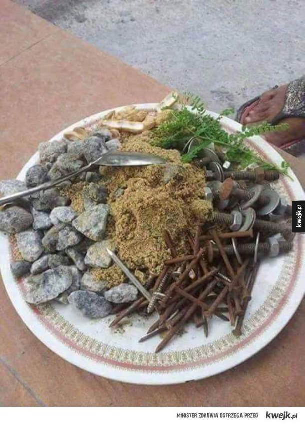 Owoce morza na obiad