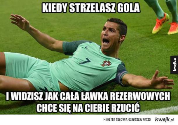 Reakcje internautów po meczu Portugalia - Walia