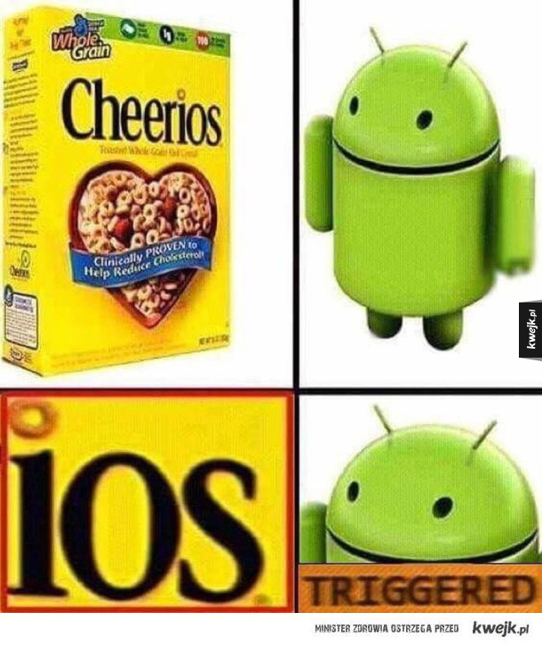 Android ma problem