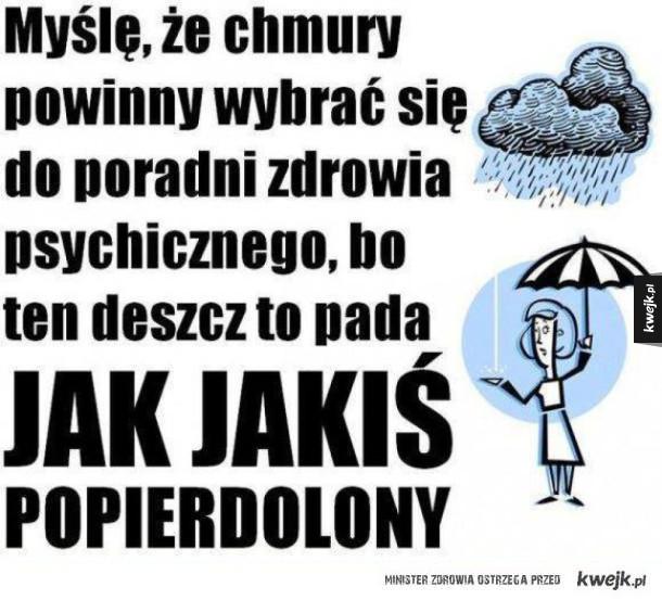 deszczowe dni