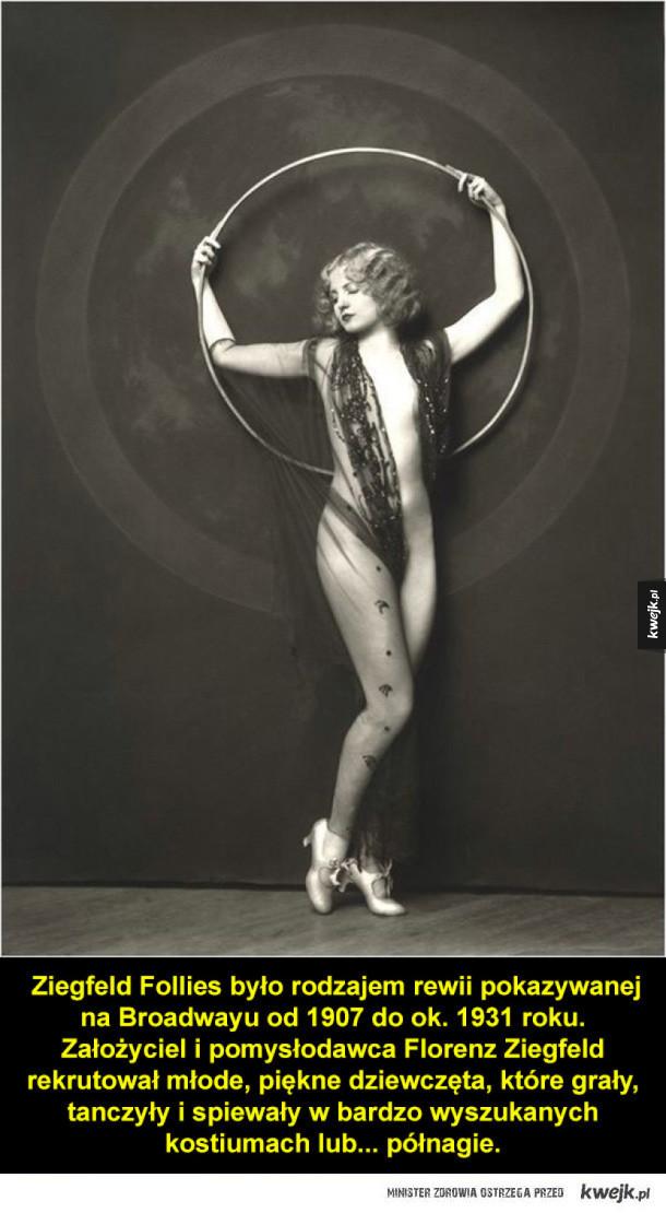 Seksowne zdjęcia z początków XX wieku