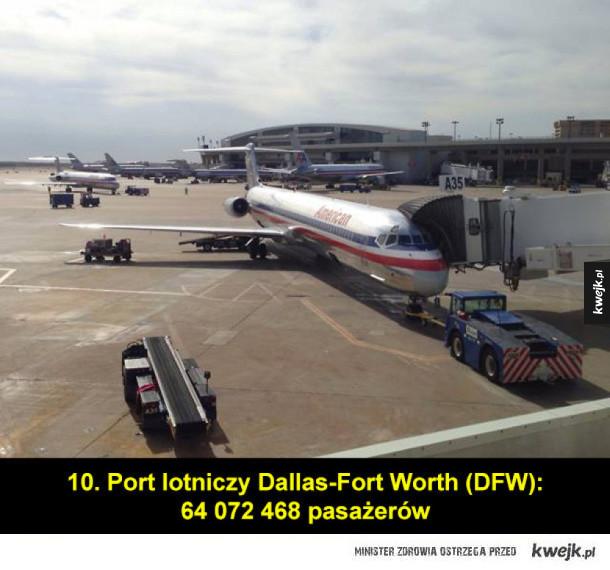 Najruchliwsze lotniska świata (stan z roku 2015)