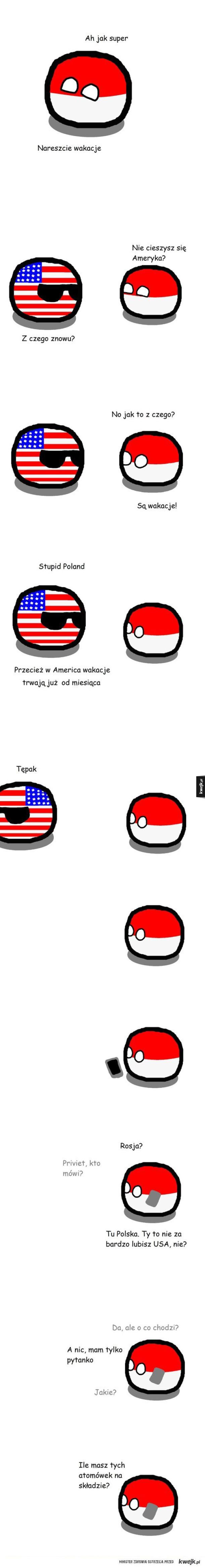 Wakacje in America