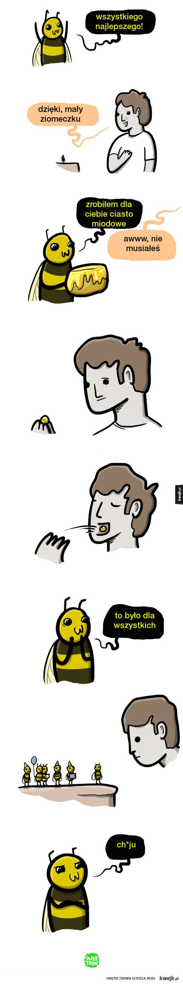 Dobry ziomek pszczółka