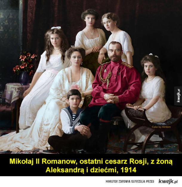 Kolorowane fotografie z dawnej Rosji