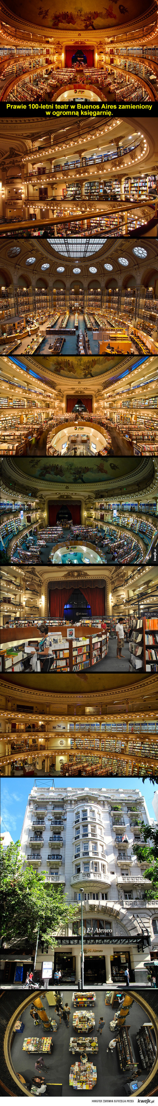 Przepiękna księgarnia
