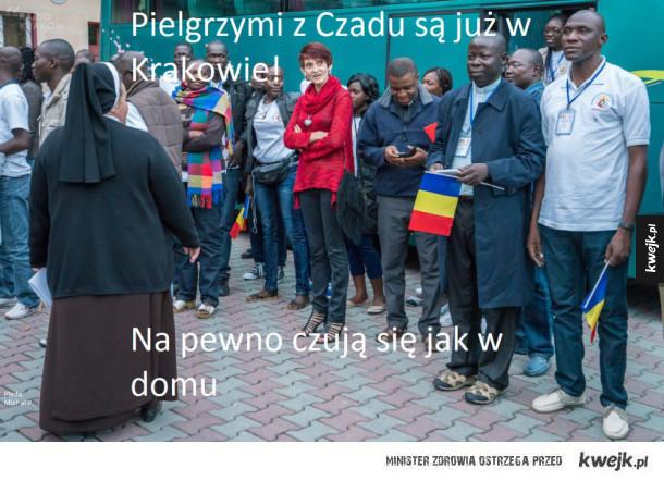 Pielgrzymi z Czadu