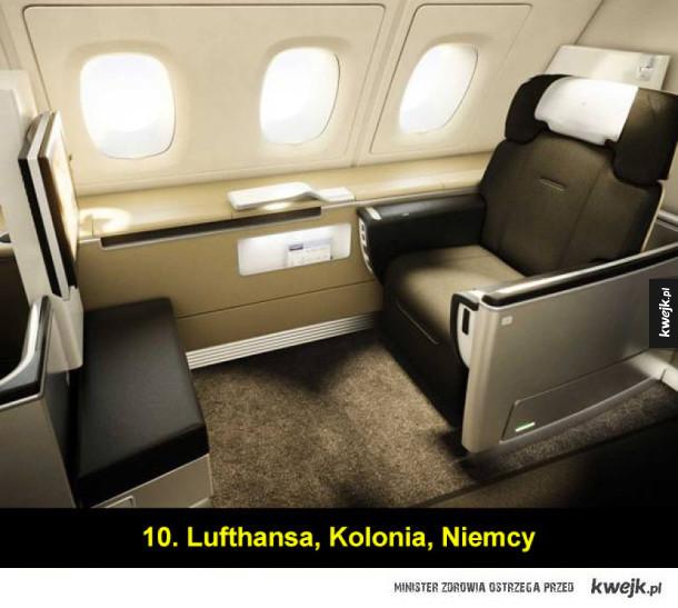 Najlepsze linie lotnicze na świecie