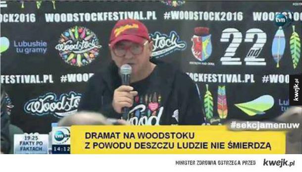dramat na woodstocku!