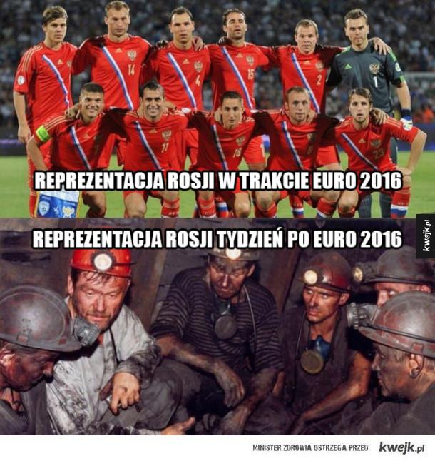 Rosyjcy piłkarze po Euro
