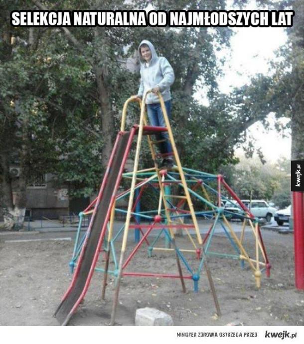 Na placu zabaw
