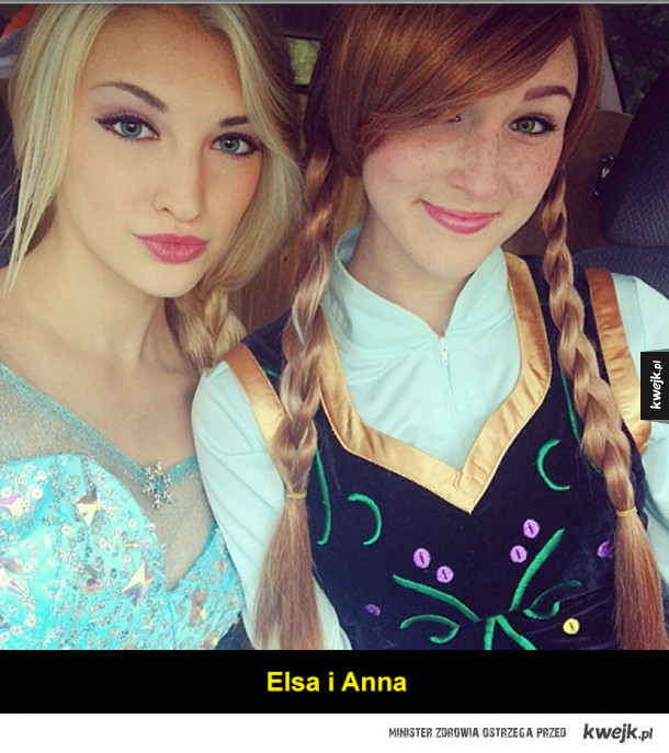 Udane cosplaye księżniczek Disneya