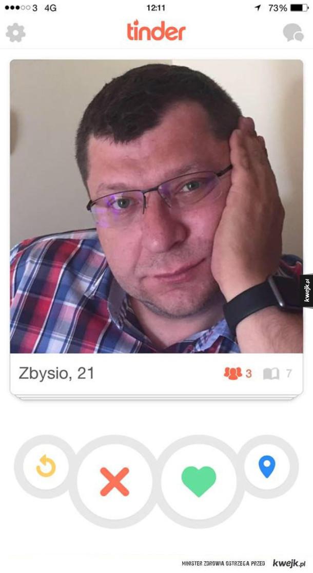 Smutny Zbysio.