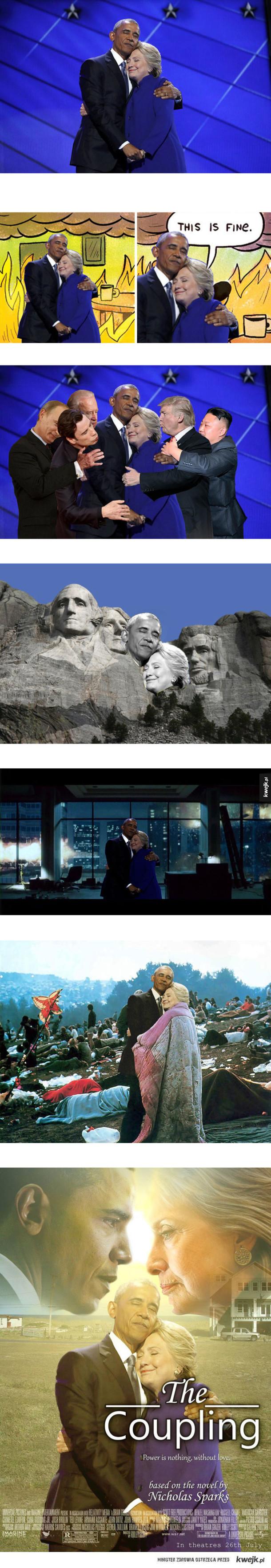 Hilary i Barack