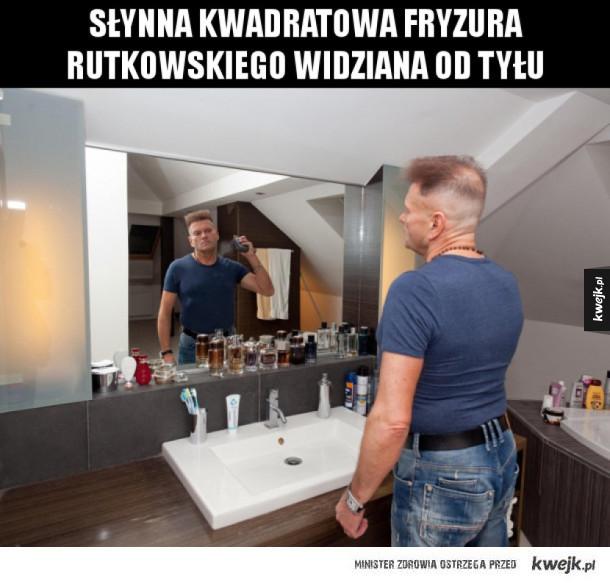 Fryzura Rutkowskiego