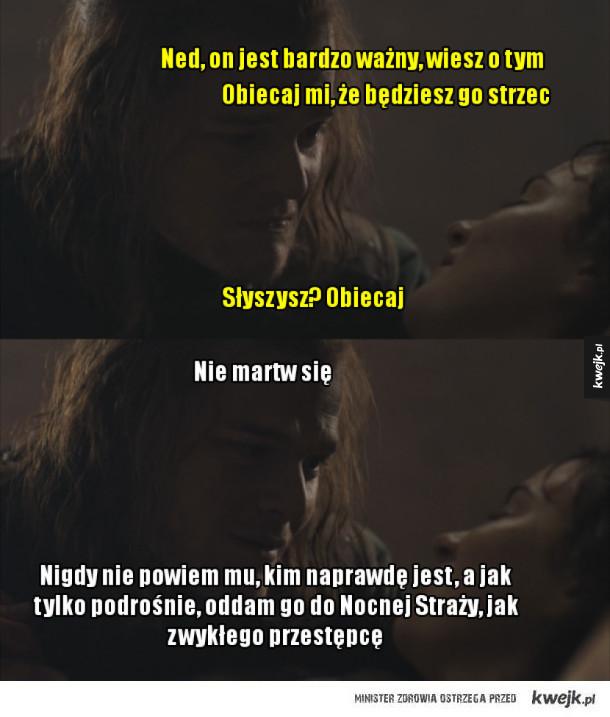Typowy Ned Stark