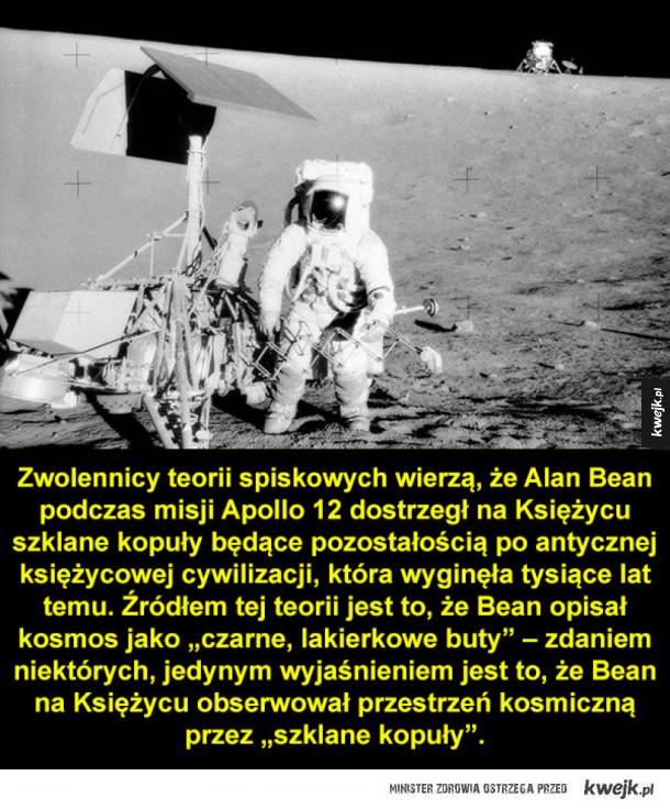Dziwne rzeczy, które astronauci (podobno) widzieli w kosmosie