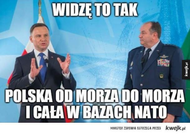 Reakcje internetu na szczyt NATO w Polsce - szczyt nato duda warszawa polska