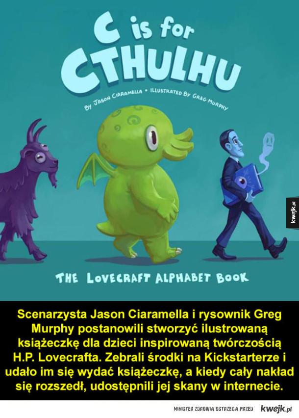 Alfabet Lovecrafta nie tylko dla dzieci