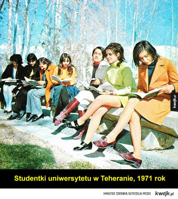 Tak wyglądał Iran w latach '60 i '70