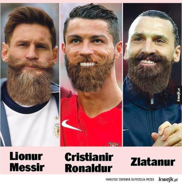 Gdyby Cristiano Messi i Zlatan byli Islandczykami