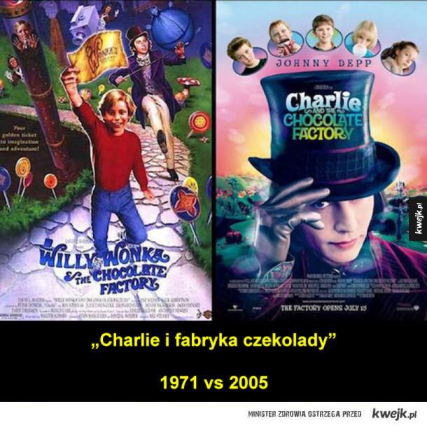 Plakaty filmowe: oryginał vs remake