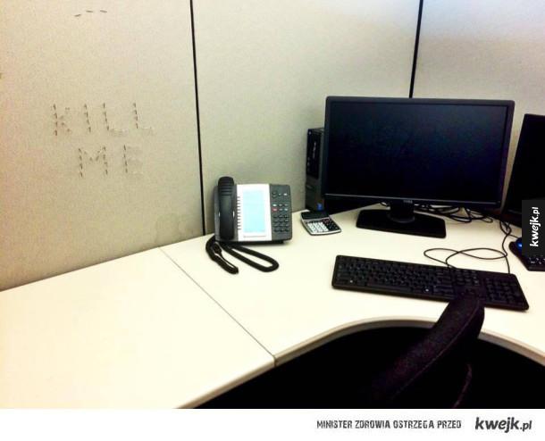 Zwykły dzień w biurze