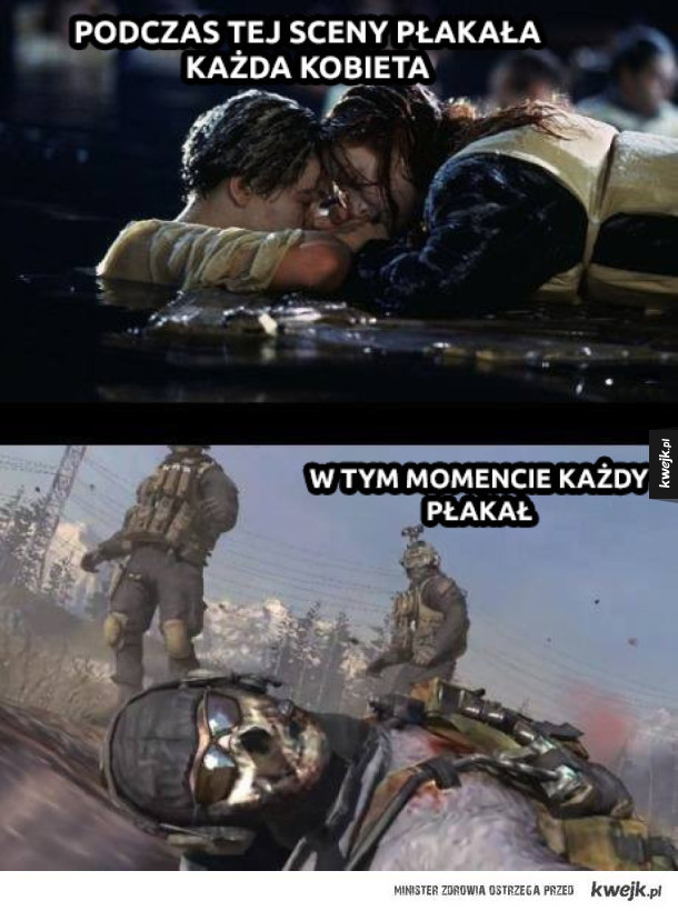 Każdy plakał