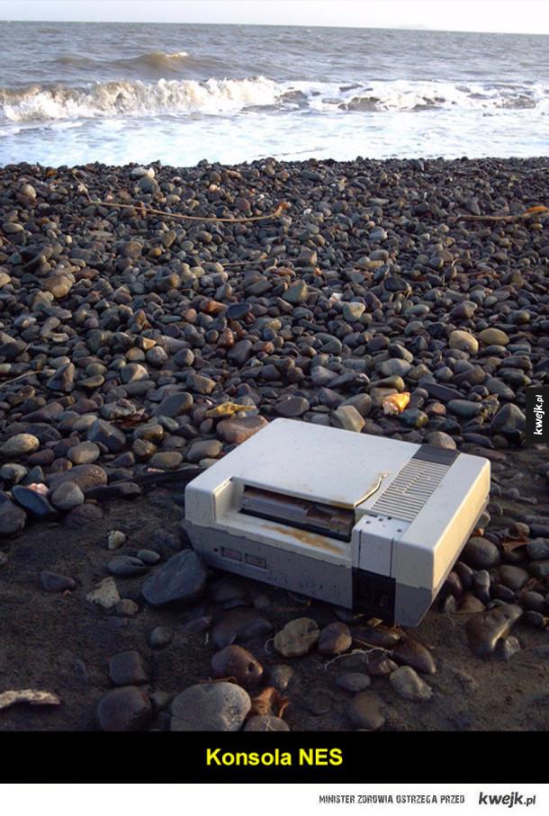 Dziwne rzeczy znalezione na plaży