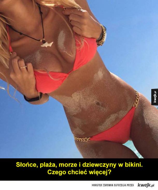 Seksowne, zapiaszczone dziewczyny na plaży