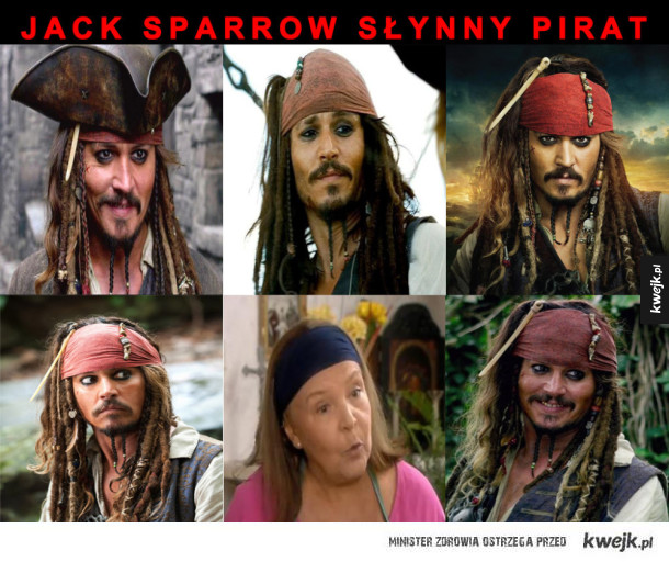 Jack sparrow slynny pirat