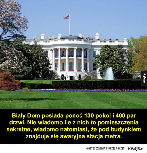 Kilka ciekawostek z Białego Domu w USA