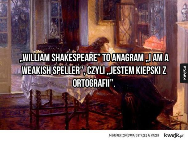Kilka faktów o Szekspirze