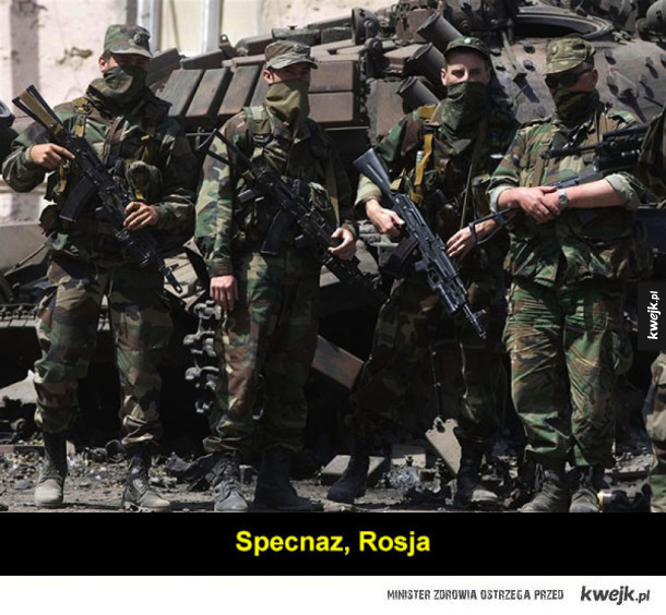 Siły specjalne z różnych krajów