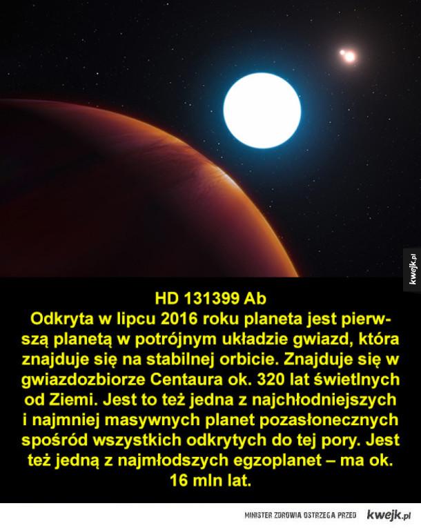 Niezwykłe i interesujące egzoplanety