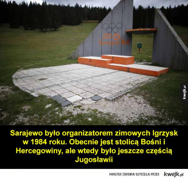 Opuszczone obiekty olimpijskie