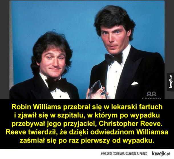 Ciekawostki o Robinie Williamsie
