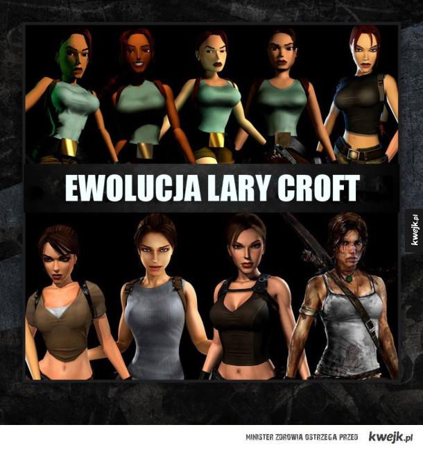 Tak zmieniała się Lara Croft