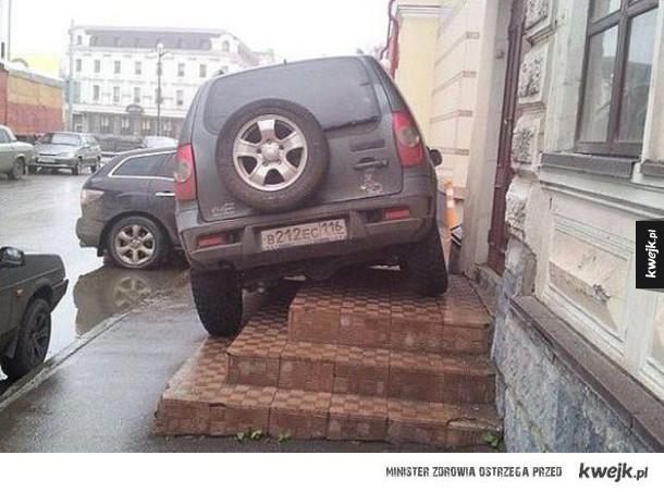 Mistrzowie parkowania kontratakują
