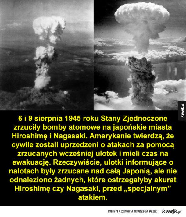 O Hiroshimie i Nagasaki w rocznicę wybuchu