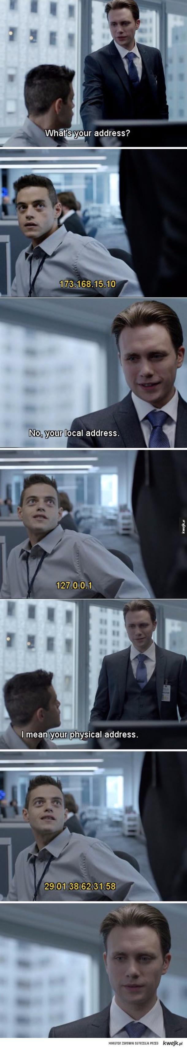 podaj adres