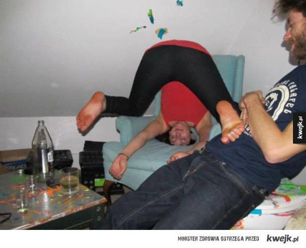 Pijani ludzie są zabawni