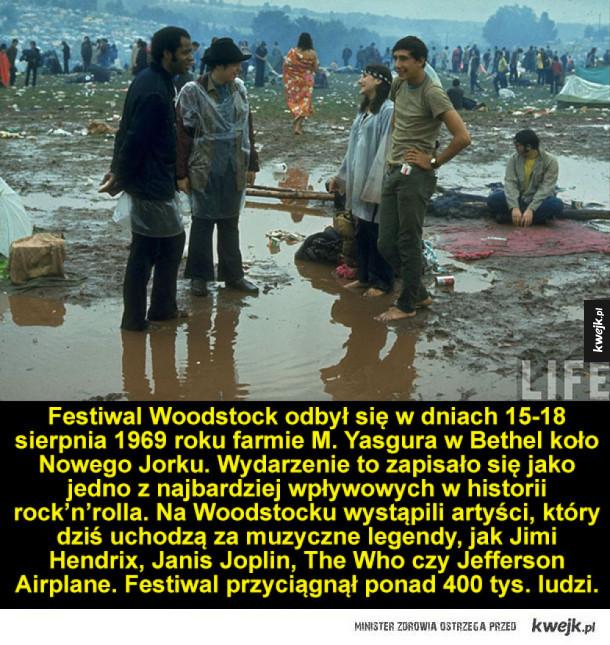 Tak wyglądał Woodstock 1969