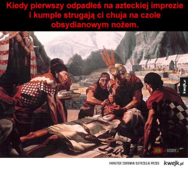 Zwyczaje Azteków